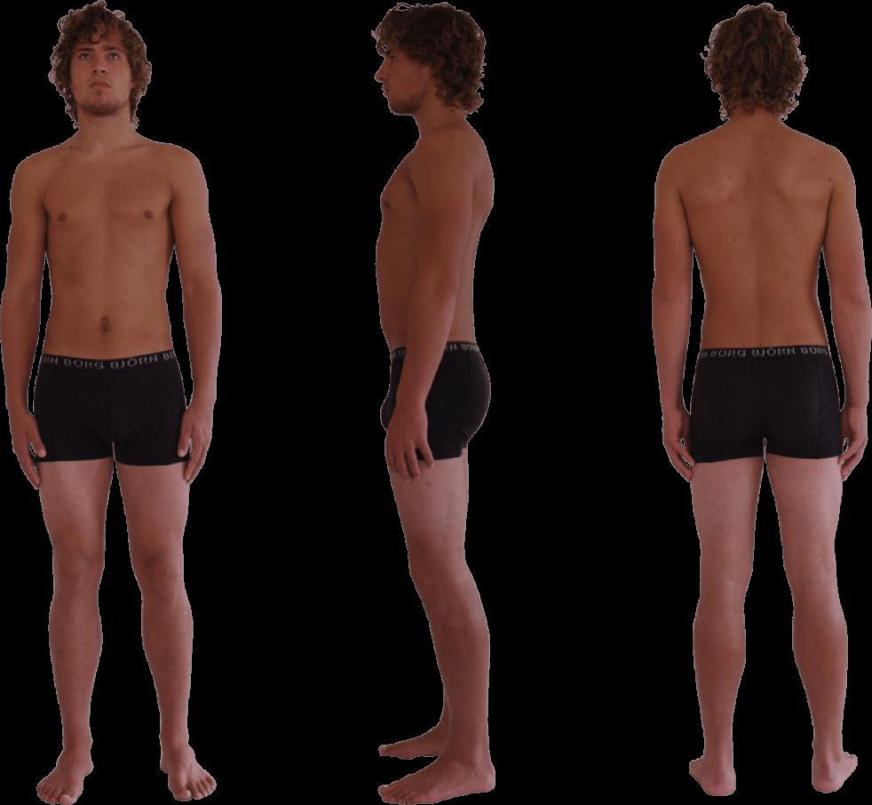podoposturale therapeutisch normale voet